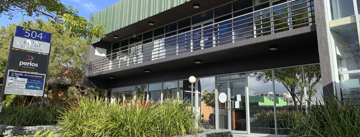 Lutwyche head office exterior
