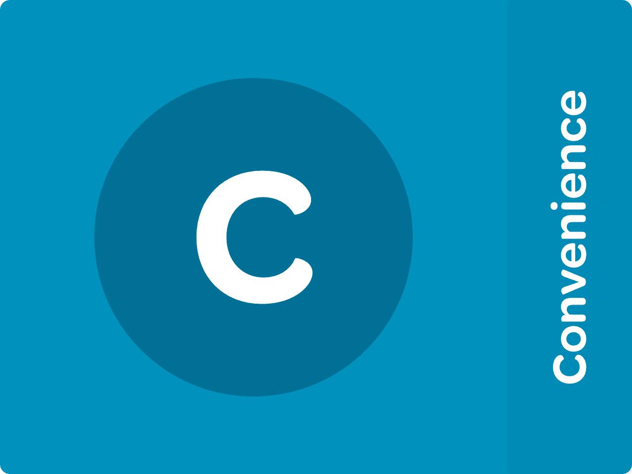 C - Convenience